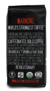 death wish coffee warning
