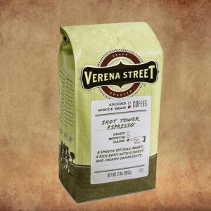Verena Street's Shot Tower Espresso