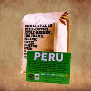 Wild Coffee Single Origin Peru Light Roast